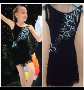 Платье для бально-спортивных танцев 10-11 лет