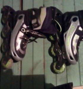 Роликовые коньки выдвижные от 36 по 42