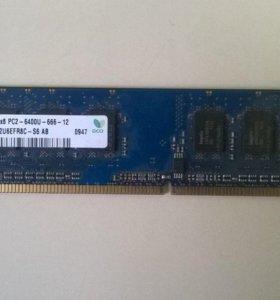 DDR-2 hynix 1gb 1Rx8 PC2-6400U-666-12