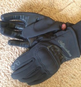 Женские мото перчатки
