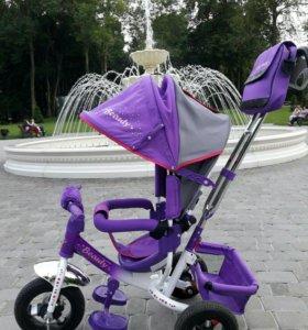 Трехколесный детский велосипед Beauty