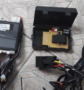Сигнализация Pandora DXL 3500 с автозапуском
