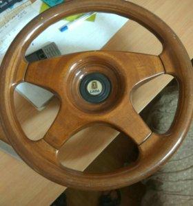 Деревянный руль