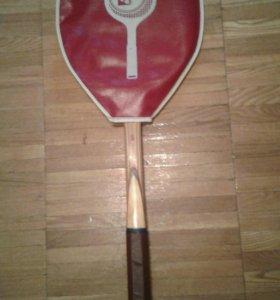 Ракетка теннисная деревянная СССР