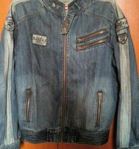 Куртка джинсовая р50