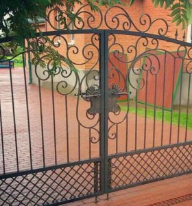 Ворота ковка