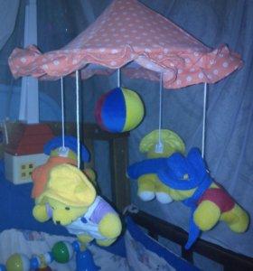 Мобиль в детскую кроватку