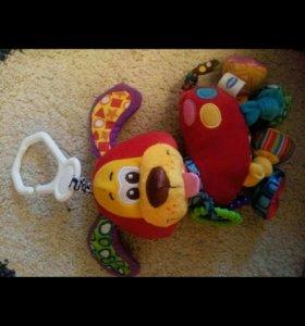 Собака игрушка развивающая вибрирует playgro