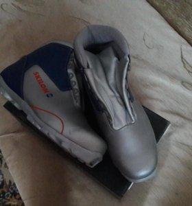 Лыжные ботинки. Крепления для лыж