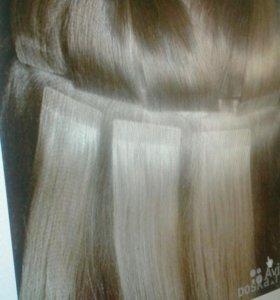 Волосы на микролентах