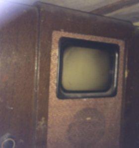 Культовый телевизор КВН 49, СССР, первый телевизор