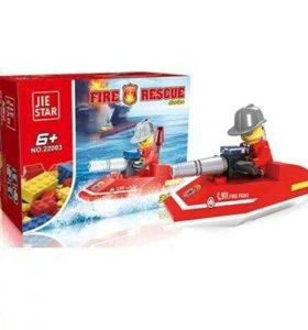 Конструктор «Пожарный катер» серии Пожарная охрана