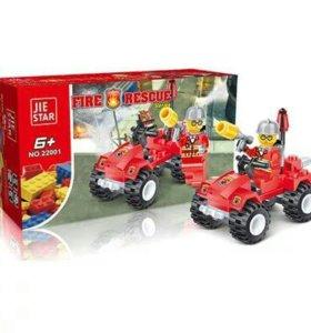 Конструктор Пожарный патруль серии Пожарная охрана