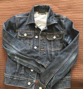 DKNY джинсовая куртка