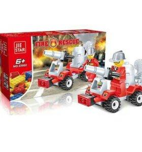 Конструктор Пожарные мини гидрант