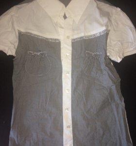 Блузка новая с рукавами-фонариками