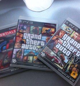PS3 игры Гета 5, гета 4, гонки.