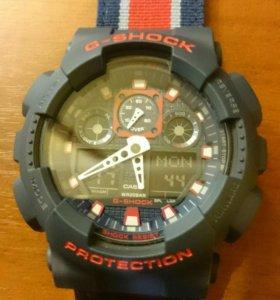 Часы CASIO G-SHOCK GA-100MC-2A