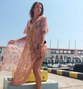 Накидка платье