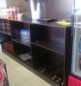 Оборудование для продажи пива и барная стойка