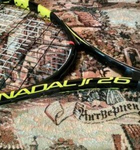 Теннисная ракетка; Babolat Nadal jr 26