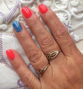 Маникюр, покрытие ногтей гель лаком