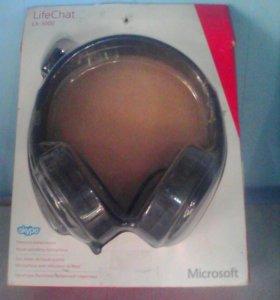 Наушники с микрофоном майкрософт lx-3000