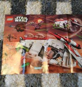 Плакат Lego Star Wars