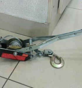 Лебедка ручная Safety precautions