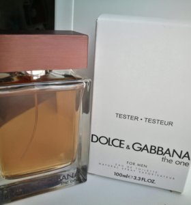 Парфюм D&G THE ONE m EDT 100 ml tester