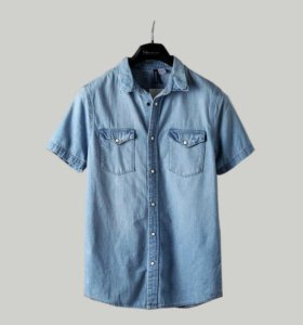 Джинсовая рубашка HM новая