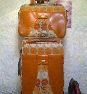 Чемодан+сумка