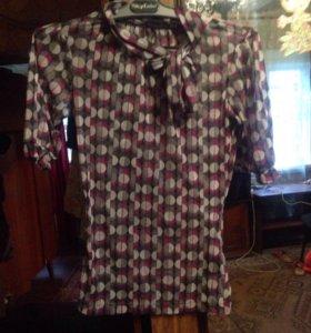 Блузка прозрачная