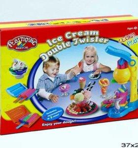 Набор Фабрика мороженого, масса для лепки