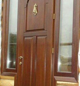 Окна, двери, лестницы для деревянных домов