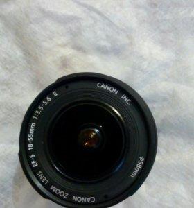 Объектив Canon EF-S 18-55
