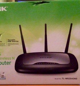 TP-LINK Gigabit Router model No TL-WR2543ND Б/У