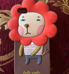 Чехол-накладка Hello Geeks для apple iphone 5-5s