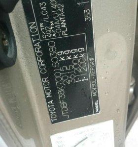 акпп u140e от Toyota camry v6 1mz-fe