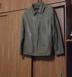 Куртка, кожаная мужская