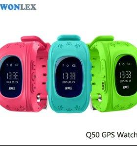 Детские смарт-часы Q50 Wonlex