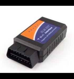 новый автосканер elm 327 wi-Fi V 1.5