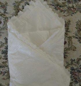 Конверт одеялко на выписку