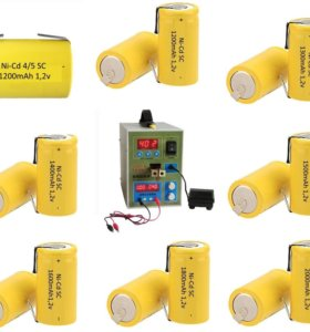 Аккумуляторы 1.2v Ni-Cd Ni-Mh Li-ion