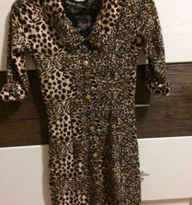 Необычное леопардовое платье💔🐆