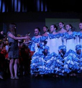 Танцевальное платье для фламенко
