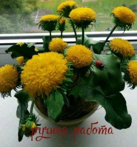 Одуванчики - солнечные зайчики :)