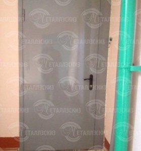 Тамбурная дверь с утеплением