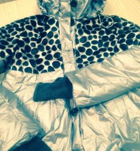 Пальто для девочки-осенне-зимнее