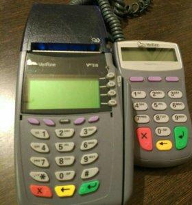 Терминал verifone vx510 + pinpad PP1000SE